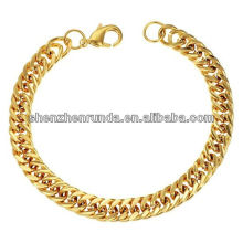 New arrival Gold Jewelry Men's Gold Bracelets gold plated Popular bracelet vners Manufacturer & Factory & Supplier