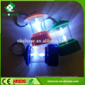 Camping light shape 1 LED plastic led keychain flashlight for kids