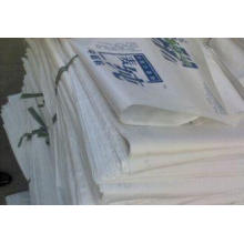 5kg 15kg 20kg Colorful Plastic Bags For Rice Packaging , mo