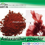 Astaxanthin Powder for animal feed additive to impart coloration