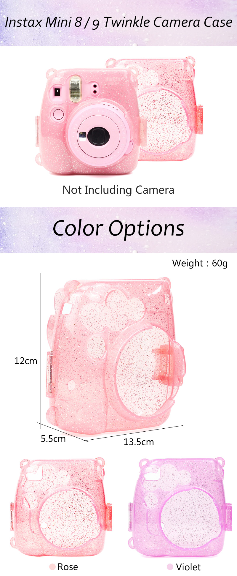 Twinkle Instax Mini 9 Protective Case
