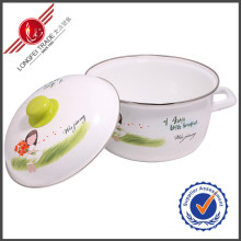 Kitchenware Eco-Friendly Enamel Cookware Sauce Pot