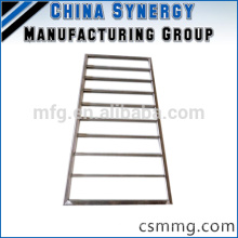 Kundenspezifischer geschweißter Aluminiumrahmen / Stahlrahmen