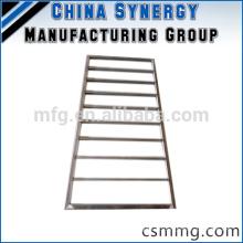 Marco de aluminio soldado de encargo / marco de acero