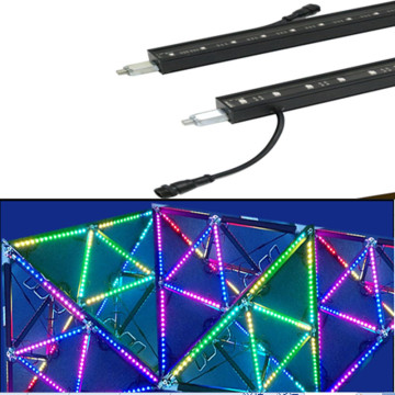 DMX512 Led Pixel Media Bar Lumière