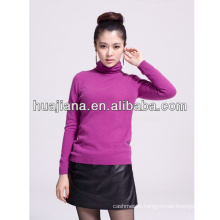 women's turtleneck 30% cashmere sweater