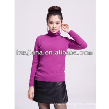 women's turtleneck 30% cashmere sweater
