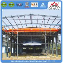 Entrepôt de stockage préfabriqué préfabriqué en acier à plusieurs étages