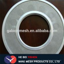 Precio de fábrica sinterizado de cinco capas de acero inoxidable filtro de disco Alibaba China