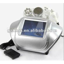 Buen efecto Cuerpo de cavitación ultrasonora adelgazamiento y cuidado de piel multipolar máquina de cavitación RF