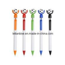 ¡Nuevo producto! ! ! Bolígrafo de plástico con fútbol (LT-Y029)