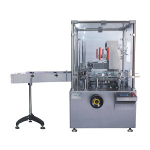 Automatic tube cartoning machine