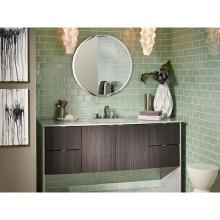 Prägnante Design-Badezimmer-Waschtische mit Vitrine