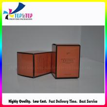 Caja de embalaje de papel personalizado de alta calidad para velas