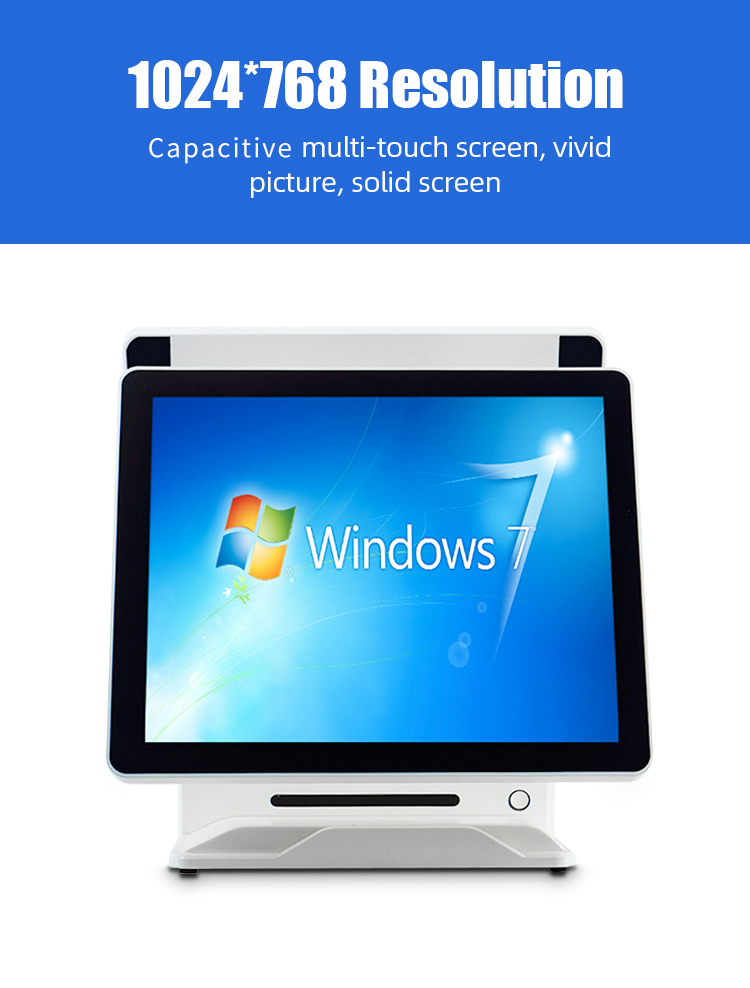 dual scree pos video technical support