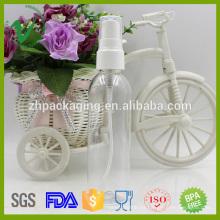 Botella vacía vacía de Boston redonda 100ml botella de spray de plástico para perfume