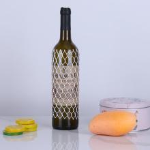 cubierta de red de plástico protectora cubierta de red de extrusión de botella