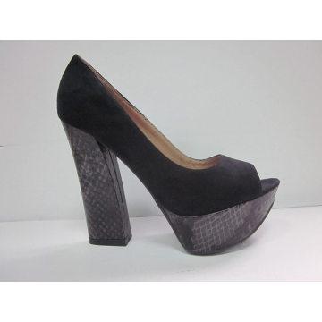 2016 nuevas sandalias de las señoras del peep-toe de la manera del estilo de la manera (HCY03-074)