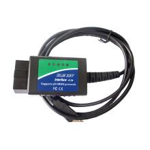 OBD2 USB вяз с Power защиты чип диагностический инструмент