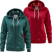2016 China Manufacturer Lightweight Zipper Hoodie Women Clothes