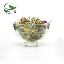 Nuevo té blanco mezclado de la aguja de la plata de la manzanilla del té gastrónomo mezclado