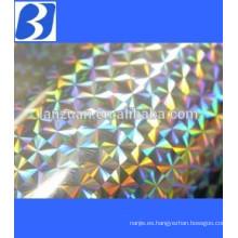 hologram metallized aluminum pet film
