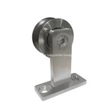Top Mount Stainless Steel Decorative Sliding Door Hardware