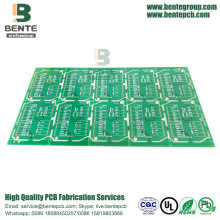 PCB épais multicouche d'or de 1.5mm
