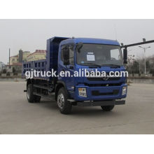 Shacman marca 4X2 drive dump truck para 10-20 metros cúbicos