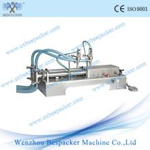 Machine de remplissage semi-automatique pneumatique en poudre pneumatique en acier inoxydable