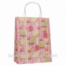 Китай продукты Рождество коричневые модные подарок бумажный мешок для подарок