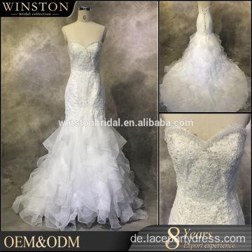 Kleider Lieferanten lila und weißen Brautkleider