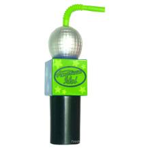 Plastikwasser-Flasche, PE-Flasche, Mikrofon-Wasser-Flasche