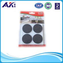 Black Round Shape 22mm EVA Self-Adhesive Floor Protector Pad EVA Bumper for Furniture Table Desk Chair and Sofa