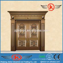 JK-C9025 meilleure porte en cuivre cuivré belle conception antique