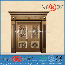 JK-C9025 best brass copper coated door nice antique design