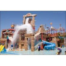 Amusement Park Equipment, Outdoor Water Slides Playground E