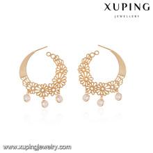 92597-Xuping creó los pendientes europeos del pun ¢ o de la joyería del diseño