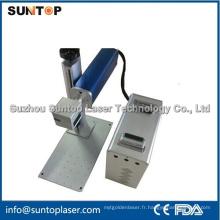 Machine de marquage au laser de panneau de panneaux / machine de marquage laser aux frappes