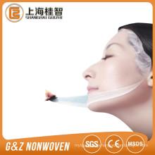 láminas de máscara facial de fibra de leche productos de blanqueamiento piel-ajuste