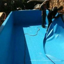 Membrane imperméable de PVC de chlorure de polyvinyle de haute qualité pour le toit / sous-sol / garage / doublure de piscine / doublure d'étang / tunnel avec l'OIN