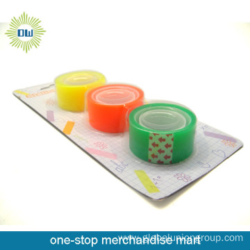 3PCS stationery tapes