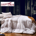 2017 Luxury quality Factory Directly Hotel Home quilt 100% Goose down comforter