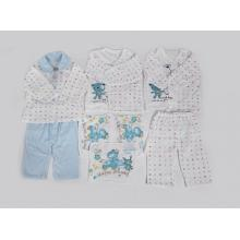 8 Pcs Newborn Baby Luxury Clothes Gift Sets(100% Cotton)