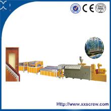 Production de panneaux WPC à partir de matériaux recyclés