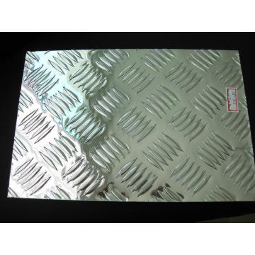 Aluminium 5 Bar Aluminium Checkered Plate