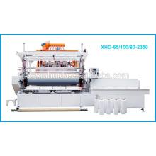 Alta velocidad 3 capas o 5 capas de la máquina de la película del estiramiento / XHD-L65 / 100 / 80-2350