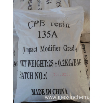 Leading for Polyethylene Film CPE Resin 135A/135B supply to Namibia Supplier