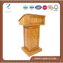Podium en bois adapté aux besoins du client avec la conception convertible de roues