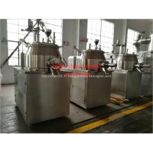 Machine de granulation de mélangeur de cisaillement élevé